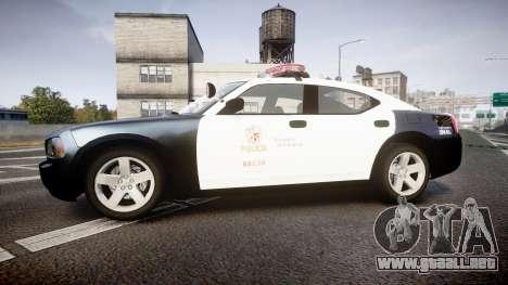 Dodge Charger 2010 LAPD [ELS] para GTA 4 left