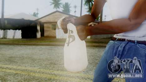 Red Dead Redemption Money para GTA San Andreas sucesivamente de pantalla