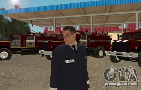 Los Rescatistas Ucrania para GTA San Andreas