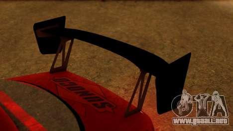 Toyota Mark 2 100 para GTA San Andreas vista hacia atrás