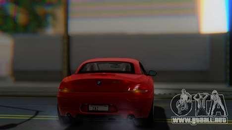 BMW Z4 sDrive35is 2011 2 Extras para vista lateral GTA San Andreas