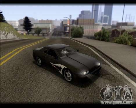Elegy Hard Stunt para vista inferior GTA San Andreas