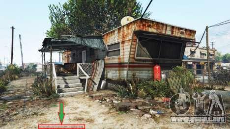 Visualización de la ubicación de player v1.06 para GTA 5