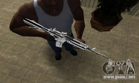 Original M4 para GTA San Andreas