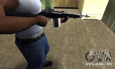 Full Black Rifle para GTA San Andreas