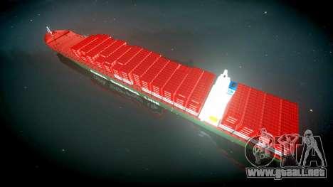 Un barco de contenedores para GTA 4 visión correcta