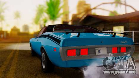 Dodge Charger Super Bee 426 Hemi (WS23) 1971 IVF para GTA San Andreas left