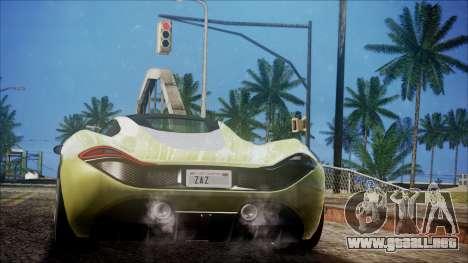 GTA 5 Progen T20 para GTA San Andreas left