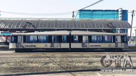 GTA 5 Nuevas texturas de los tranvías segunda captura de pantalla