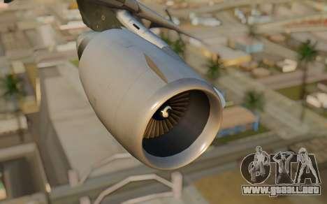 DC-10-30 Monarch Airlines para la visión correcta GTA San Andreas