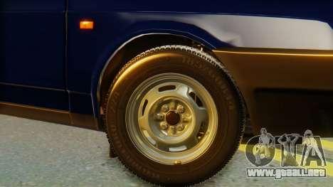 VAZ 2108 Stoke para GTA San Andreas vista posterior izquierda