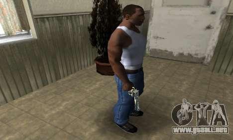 Revolver para GTA San Andreas tercera pantalla