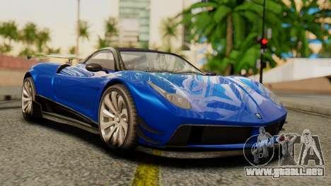 Pegassi Osyra Extra 1 para GTA San Andreas