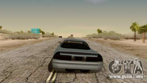 Physics from Forza Motorsport 5 para GTA San Andreas tercera pantalla