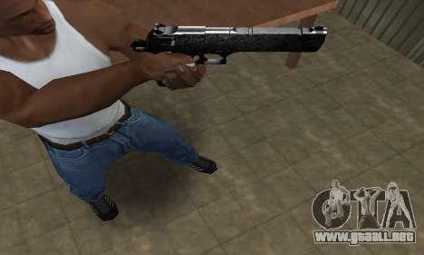 Military Deagle para GTA San Andreas tercera pantalla