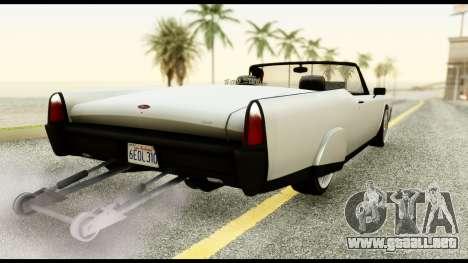 GTA 5 Vapid Chino Tuning v1 para GTA San Andreas left