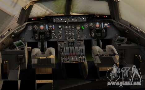 DC-10-30 Monarch Airlines para GTA San Andreas vista hacia atrás