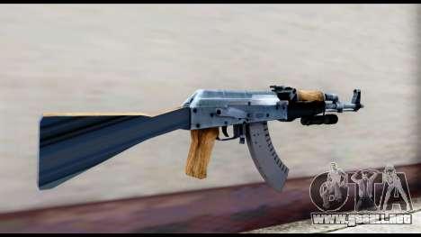 AK-47 de L4D2 para GTA San Andreas segunda pantalla