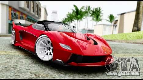 Grotti Turismo RXX-K v2.0 para GTA San Andreas