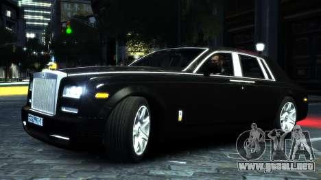 Rolls-Royce Phantom 2013 v1.0 para GTA 4 Vista posterior izquierda