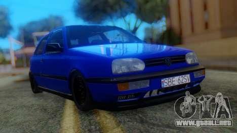 Volkswagen Golf 3 Pink Floyd para GTA San Andreas