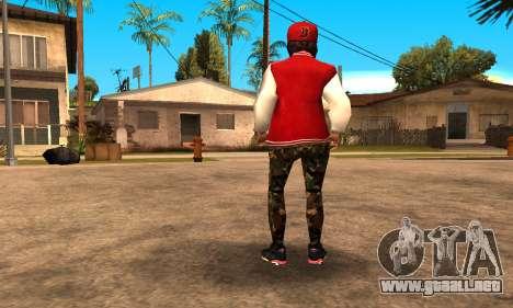 Army Girl para GTA San Andreas tercera pantalla