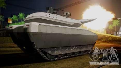 PL-01 Concept Desert para GTA San Andreas vista posterior izquierda