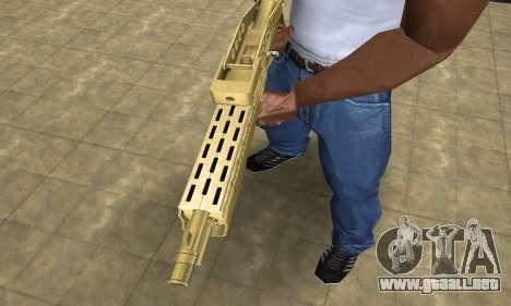 Zloty Tajfun Combat Shotgun para GTA San Andreas segunda pantalla