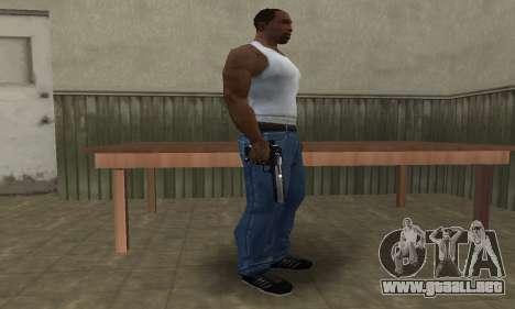 Military Deagle para GTA San Andreas segunda pantalla