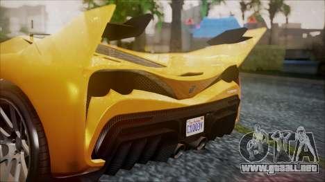 Grotti Turismo RXX-K para la visión correcta GTA San Andreas