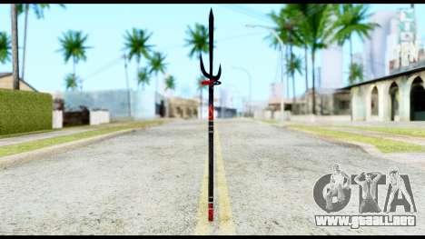 Yukimura Spear para GTA San Andreas