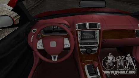 Jaguar XKR-S 2011 Cabrio para la visión correcta GTA San Andreas