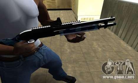 Water Shotgun para GTA San Andreas segunda pantalla