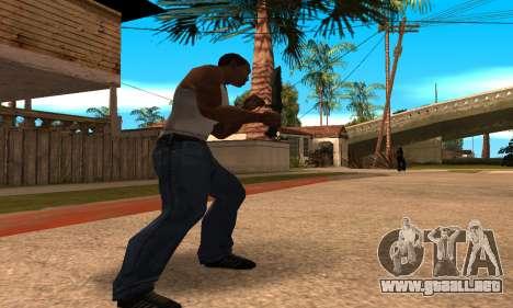 Cool Knife para GTA San Andreas tercera pantalla
