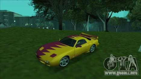 ZR-350 Double Lightning para las ruedas de GTA San Andreas