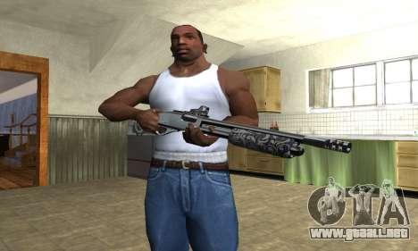 Sawn-Off Shotgun para GTA San Andreas tercera pantalla