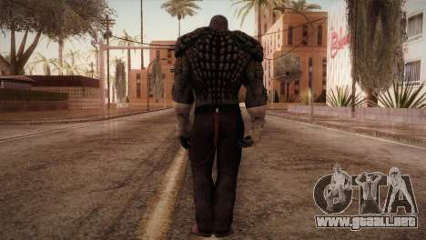 Killer Croc (Batman Arkham Origins) para GTA San Andreas tercera pantalla