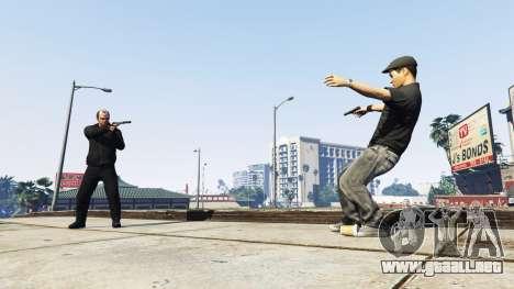Duelo en el Salvaje Oeste v1.2 para GTA 5