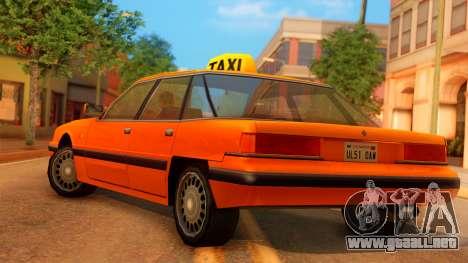 Taxi Intruder para GTA San Andreas left