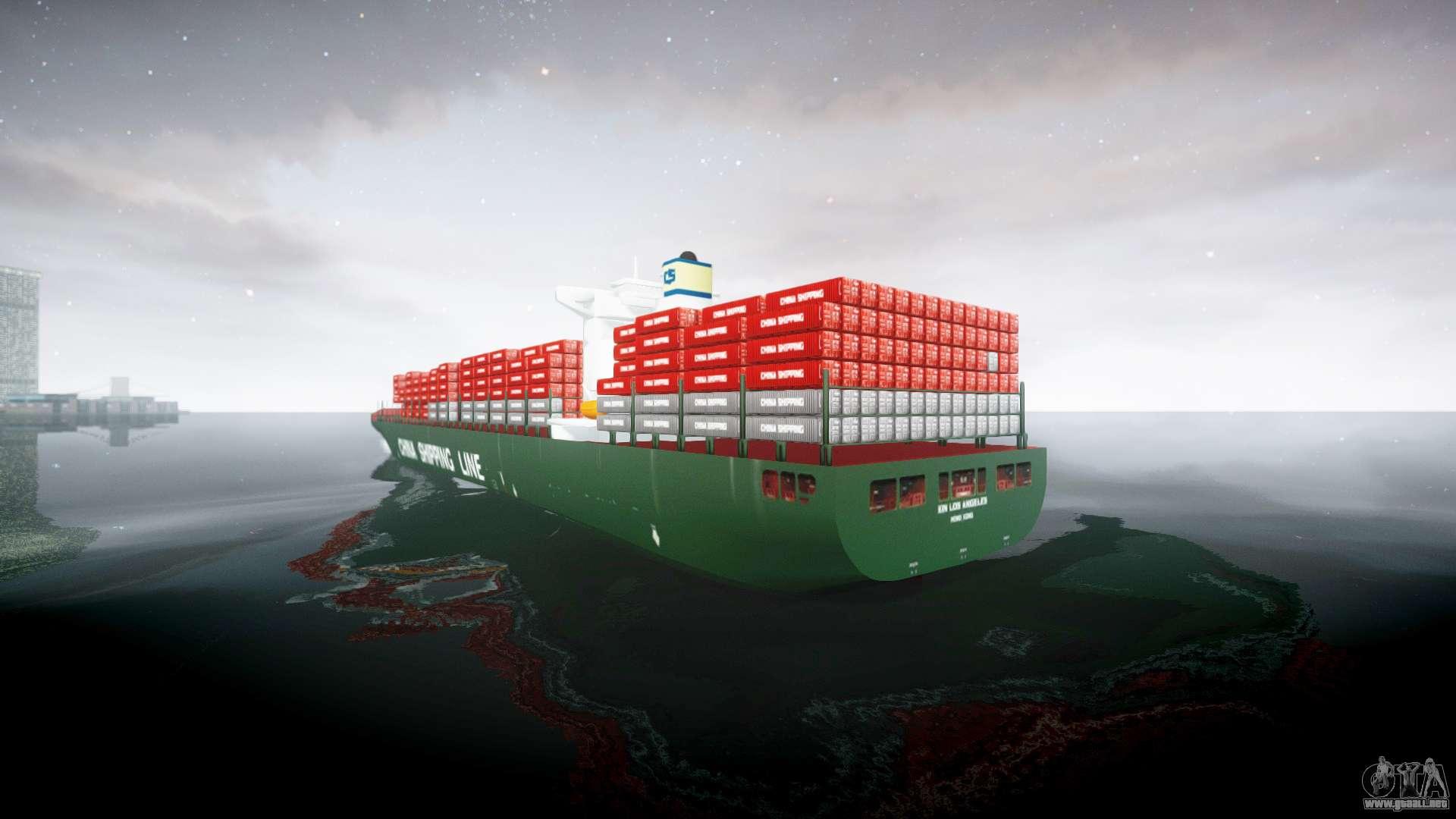 Un barco de contenedores para gta 4 - Contenedores de barco ...
