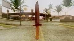 Combat Knife para GTA San Andreas