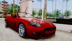 Jaguar XKR-S 2011 Cabrio para GTA San Andreas