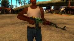 AK-47 Serpiente de Fuego para GTA San Andreas