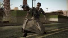 RE4 Maria without Kerchief para GTA San Andreas