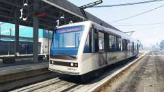 Nuevas texturas de los tranvías para GTA 5