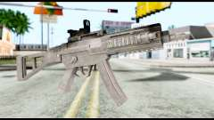 MP5 from Resident Evil 6 para GTA San Andreas