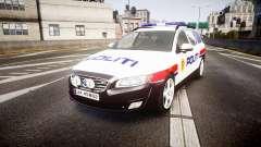 Volvo V70 2014 Norwegian Police [ELS]
