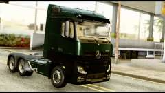 Mercedes-Benz Actros MP4 6x4 Standart Interior para GTA San Andreas