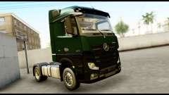 Mercedes-Benz Actros MP4 4x2 Exclusive Interior para GTA San Andreas