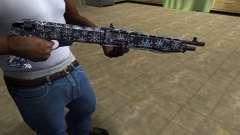 Snowflake Combat Shotgun para GTA San Andreas